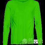 Зеленый лонгслив мужской