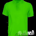 Зеленое поло премиум
