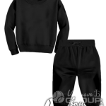 Черный костюм детский