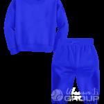 Синий костюм детский
