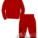 Красный костюм детский