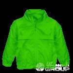 Зеленая ветровка детская