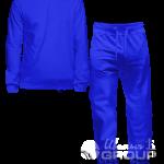 Синий костюм на заказ