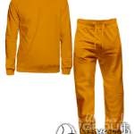 Оранжевый костюм мужской