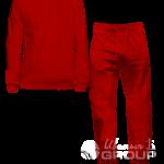 Красный костюм на заказ