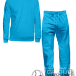 Голубой костюм на заказ