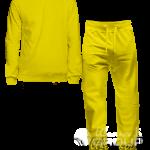 Желтый костюм на заказ