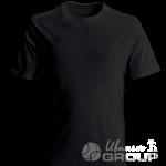 Черная футболка на заказ