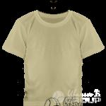 Бежевая детская футболка
