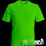 Зеленая мужская футболка