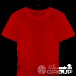 Красная детская футболка