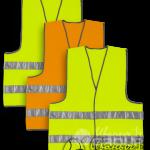 Сигнальные жилеты — самая востребованная униформа