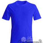 Синяя мужская футболка
