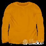 Оранжевый лонгслив детский