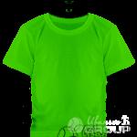 Зеленая детская футболка