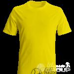 Желтая мужская футболка