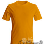 Оранжевая футболка на заказ