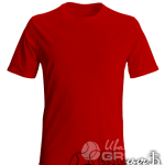 Красная футболка на заказ