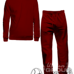 Бордовый костюм на заказ