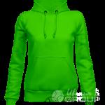 Зеленое худи женское