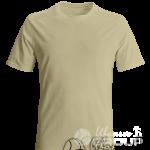 Бежевая футболка на заказ