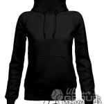 Черное худи женское