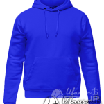 Синее худи премиум