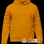 Оранжевое худи мужское