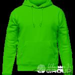 Зеленое худи мужское