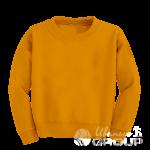 Оранжевый свитшот детский