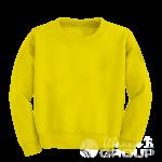Желтый свитшот детский