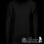 Черный свитшот женский