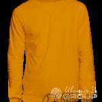 Оранжевый свитшот премиум