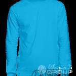 Голубой свитшот на заказ