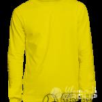 Желтый свитшот премиум
