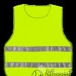 Жилет сигнальный с СОП оптом (светоотражающими полосами)