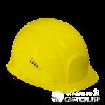 Жёлтая строительная каска