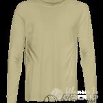 Бежевая футболка с длинным рукавом мужская