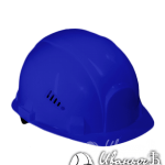 Синяя строительная каска