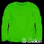 Зеленый лонгслив детский