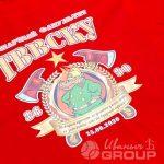 Печать картинки «ТВВСКУ» на футболках