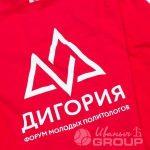 Перенос логотипа «ДИГОРИЯ» на свитшоты