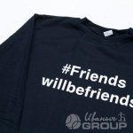 Перенос надписи «FRIENDS» на свитшот
