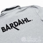 Печать изображения «Bardahl» на футболках-поло