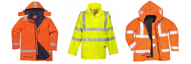 Куртки для дорожных рабочих