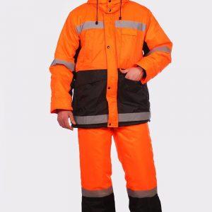 Костюм Метеор оранжевый с черным